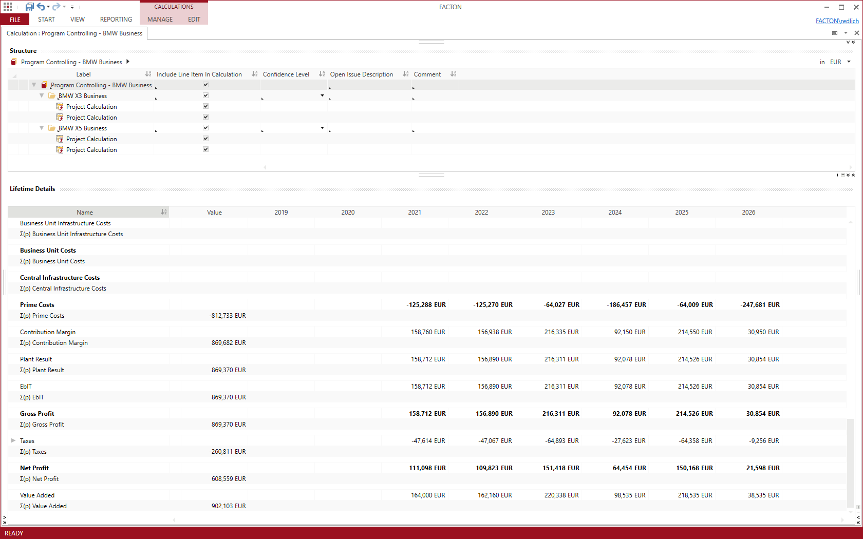 screenshot-facton-epc-cost-controlling-multiproject